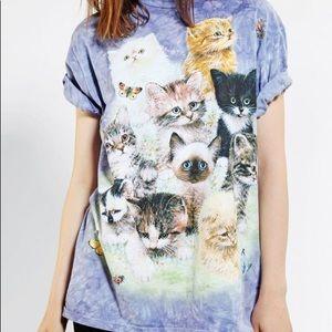 The Mountain kitty shirt